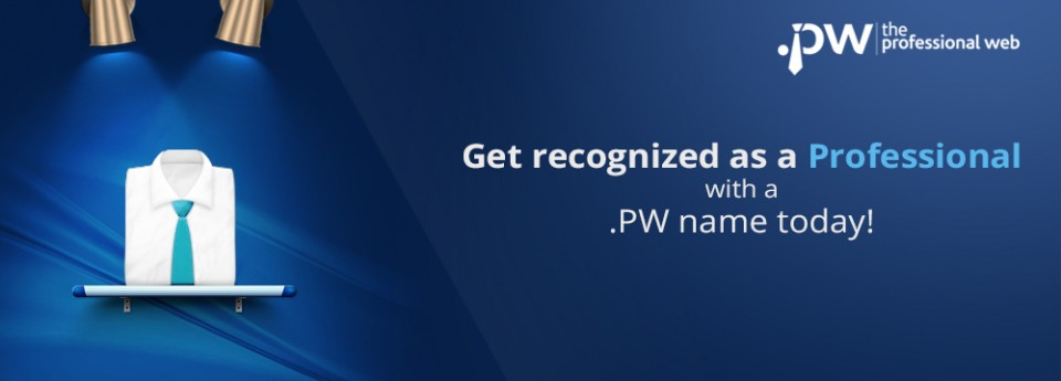 Introducing .PW - the Professional Web